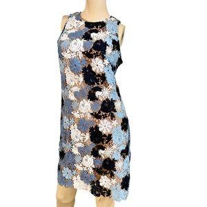 Michael Kors patchwork crochet style boho dress